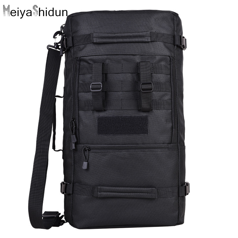 MeiyaShidun New military backpacks men 60L waterproof Molle backpack High quality multi-function Big capacity Luggage travel bag