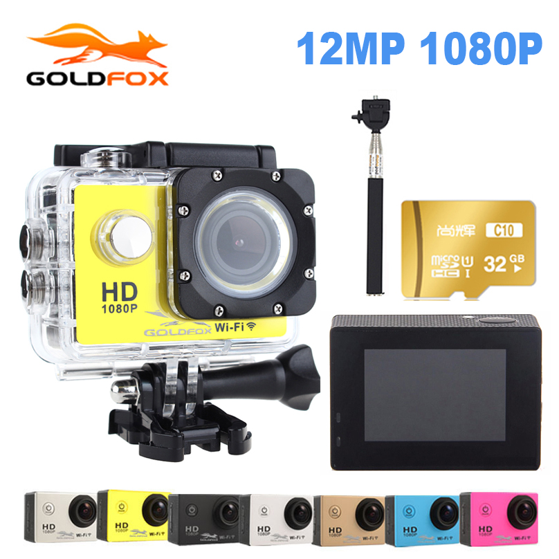 Goldfox WiFi 1080P Action Camera 2 0 Sport DV Go Waterproof Pro Camera Mini Camera Action