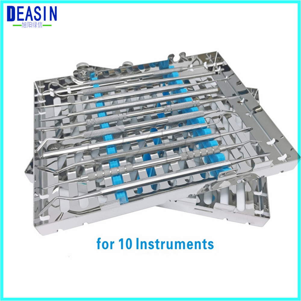 New arrival Dental stainless steel disinfection placing box for 10 pcs dental instrument for instrument disinfection plateNew arrival Dental stainless steel disinfection placing box for 10 pcs dental instrument for instrument disinfection plate