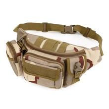 New Multifunctional Waist Pack Male Military Waist Bag Travel Belt Bags Women Fanny Waist Pouch Waterproof Waist Packs For Men