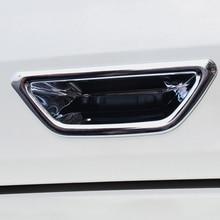 1 Pcs Achterlichten Deur Bowl Trim Chrome Cover Sticker Fit Voor X Trail X Trail Xtrail Rogue T32 2014 2019 Achter Deur Boog Styling