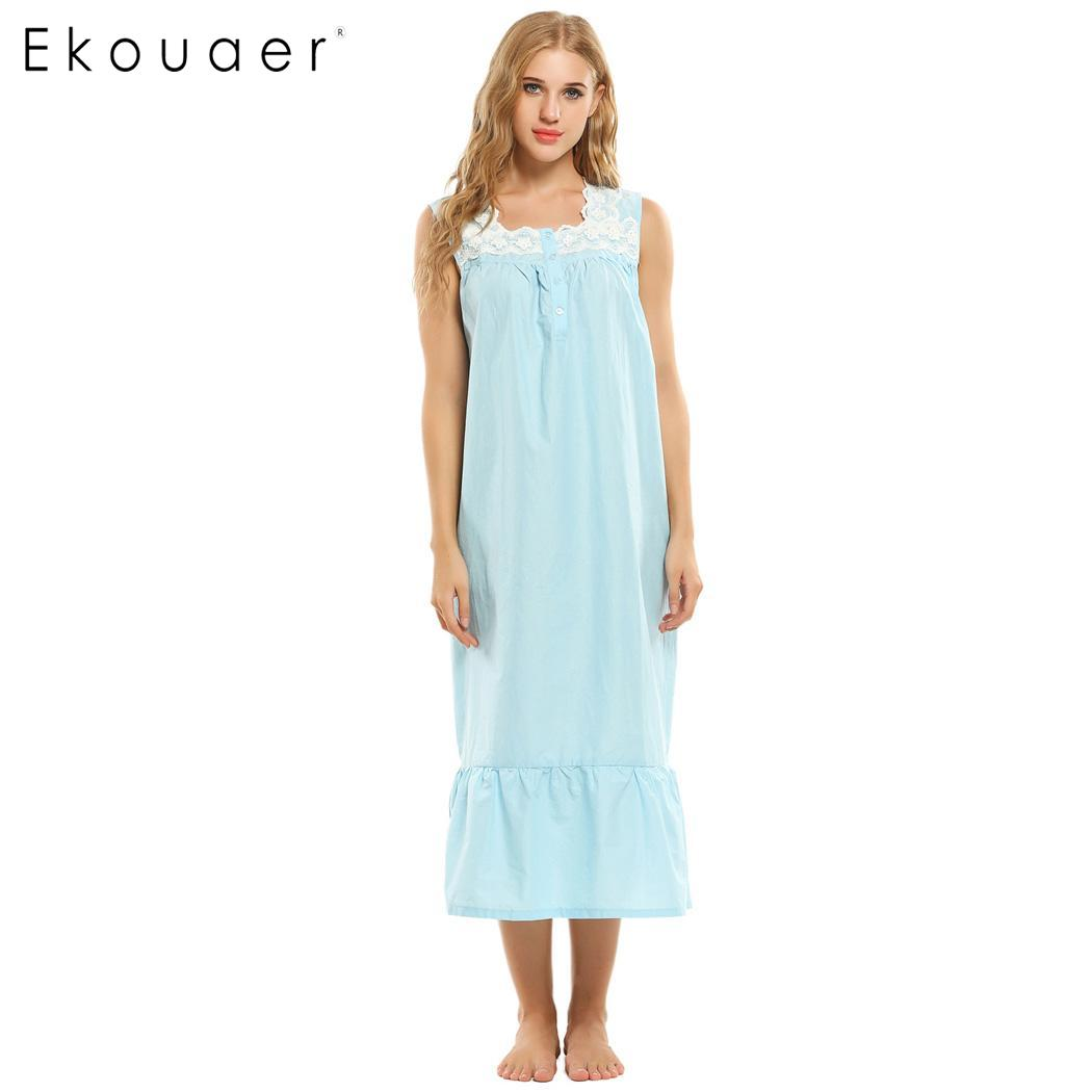 72c2da5d5eac44 Großhandel white cotton nightgowns Gallery - Billig kaufen white ...