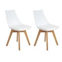 EGGREE 4 шт. кухонные стулья, обеденный стул, зеркальная рама с ногами, Офисная комната из массива бука и металлическая рама,