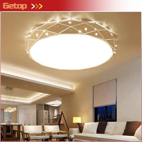 Creatieve LED Plafond Verlichting Ronde Kristal Verlichting voor ...