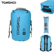 TOMSHOO 40L Outdoor Dry Bag Sack Water-Resistant Storage Bag for Rafting Boating Canoe Kayak Cycling Camping Equipment