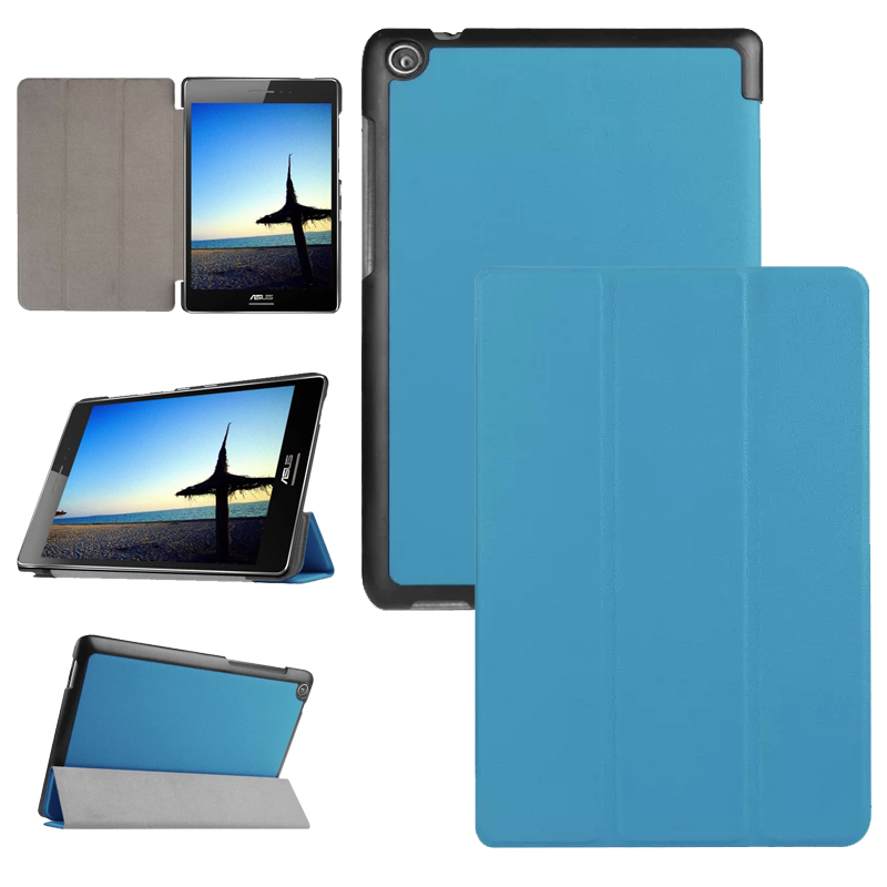 NEW 3 Folding Flip PU Leather Case Stand Cover For ASUS Zenpad S 8.0 Z580CA Z580C Z580 8 Tablet Cover Case #S0090