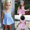 2016 Baby Girls Clothes 0-24M Newborn Infant Bebes Summer Plain Mini Dress + PP Short Bloomers Bottoms 2pcs Outfit Clothing Set