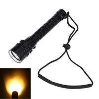 3000LM XM L T6 Waterproof LED Flashlight 10W Underwater 30M Depth Diving Torch Lamp For Diving