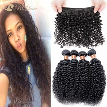 Cheap 6A brazilian virgin hair weave water wave 4 bundles Rosa Unprocessed human virgin hair extension