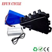 Бесплатная доставка Большой треугольник батарея 60 В 29Ah литий ионный аккумулятор для Fat Tire Bike для горных Электрический велосипед