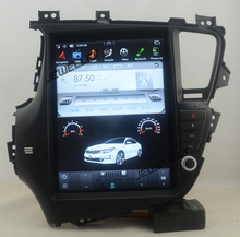 12.9″ tesla style vertical screen android 7.1 Quad core Car GPS radio Navigation for Kia Optima K5 2011-2013