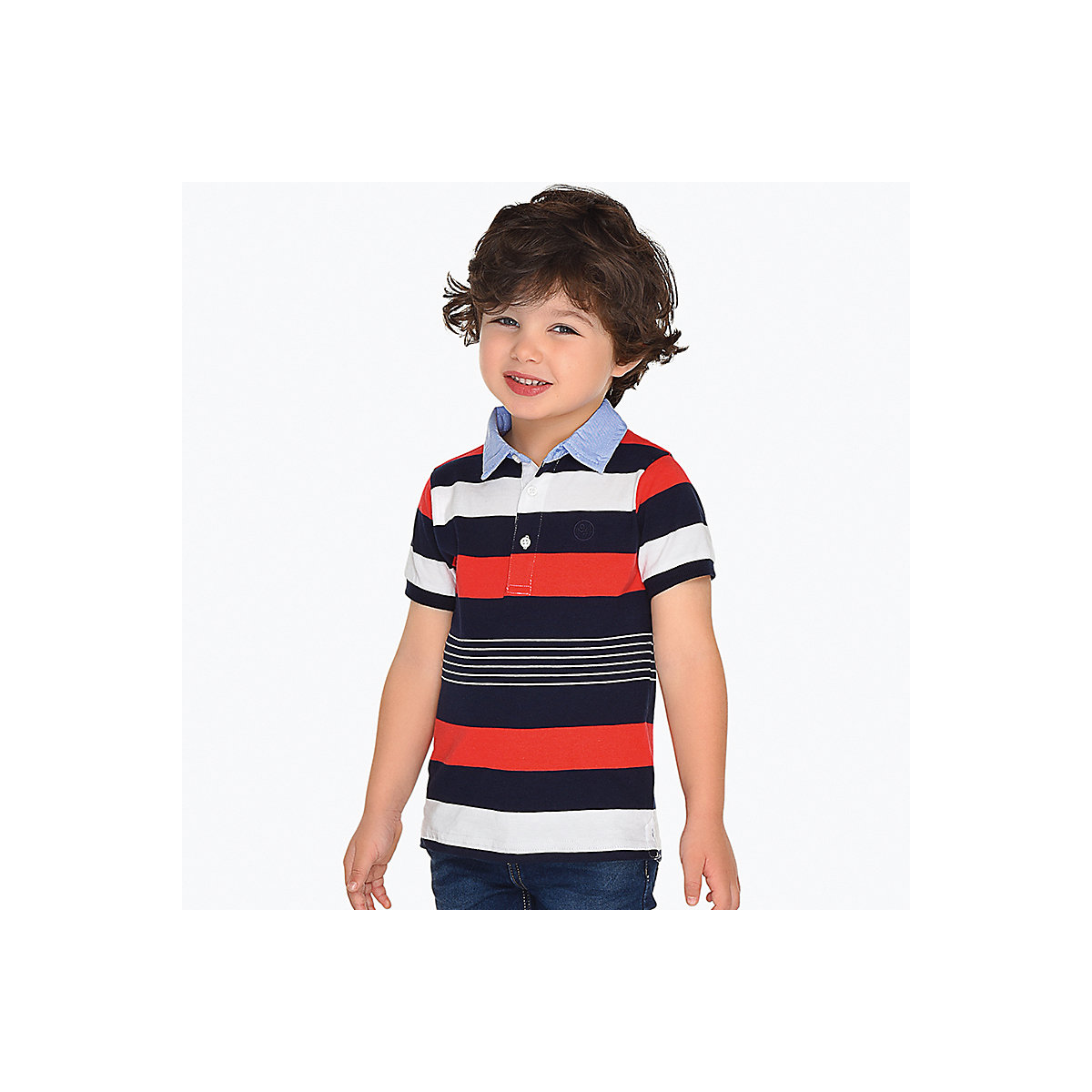 MAYORAL Polo Shirts 10693274 children clothing t-shirt shirt the print for boys