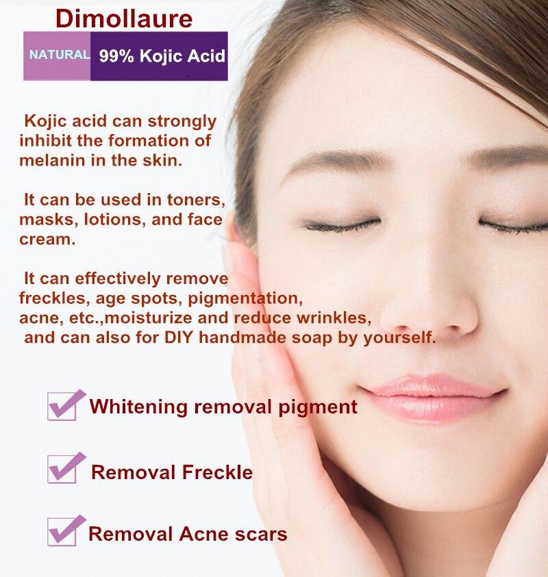 Dimollaure 100g puro 99% Eliminación de la cicatriz del ácido - Cuidado de la piel - foto 2