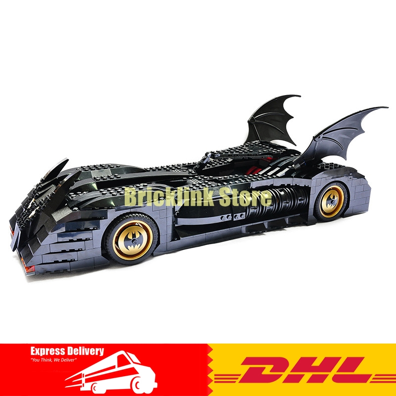 DHL Decool 7116 Superhero Batman Batmobile Model building kits Clone city 3D blocks toys hobbies for children gift 7784