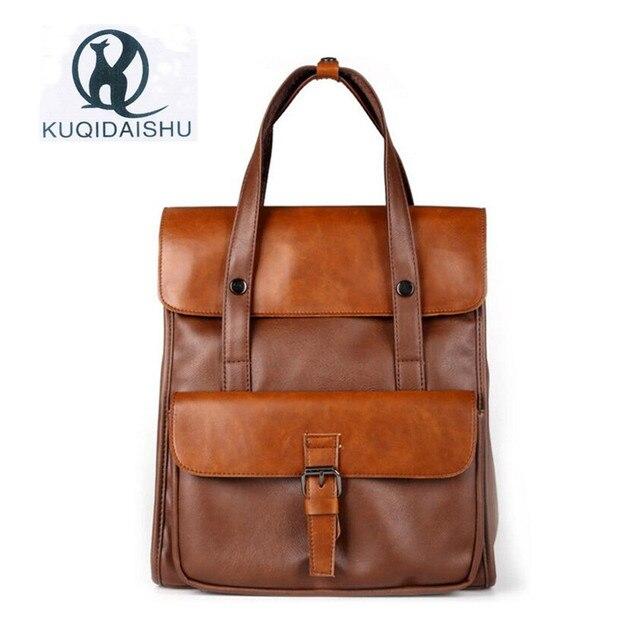 2017 New Style Men Handbag Multifunction Vintage Student Bag Fashion Messenger Bags Travel Handbags Sacoche
