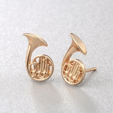 French Horn Earrings