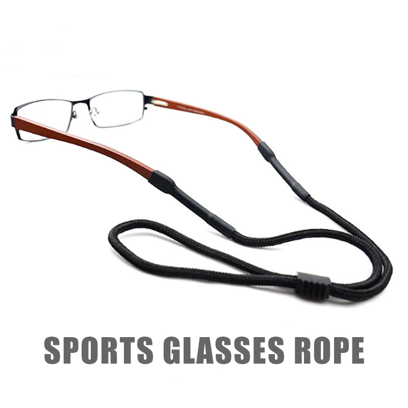 1PCS Sports Glasses Rope Reading Glasses Chain Neck Holder Strap Sunglasses Eyewear Nylon Cord