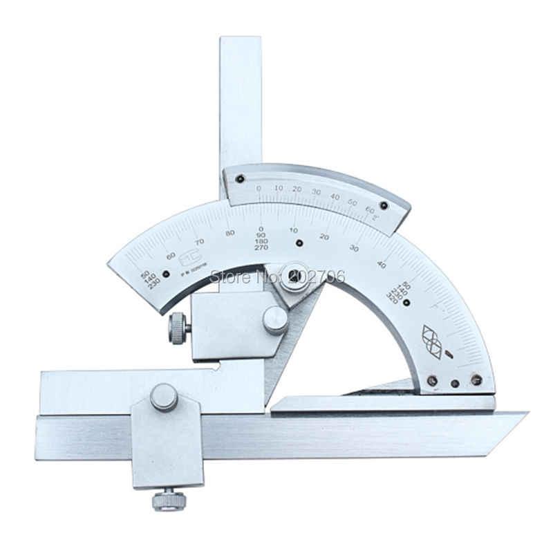 Universal 0~320 Degree Bevel Protractor Angular Dial Vernier Caliper in US