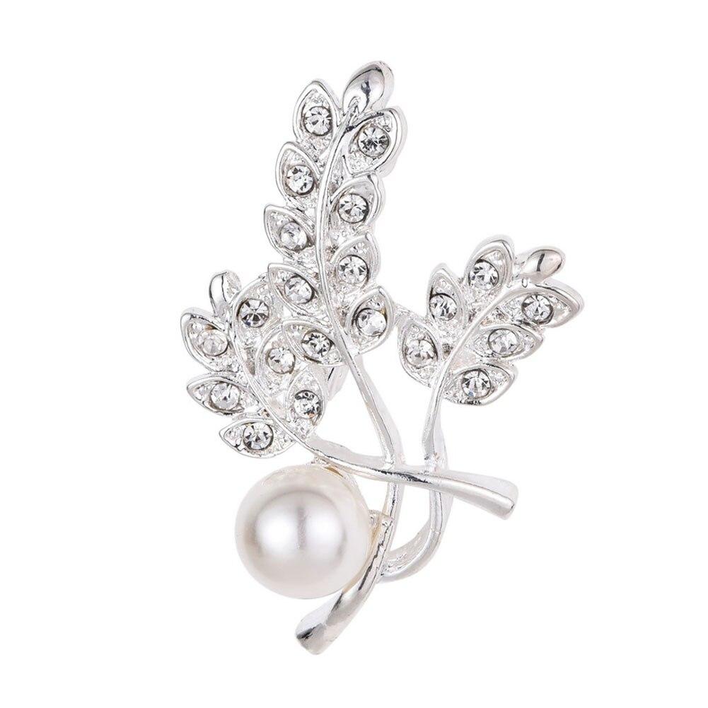 Полезная личность листьев цветы броши первой необходимости Pin для Для женщин Мода