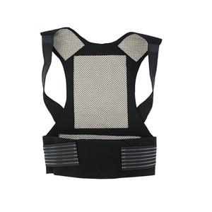 Image 3 - Turmalin samonagrzewający magnetoterapia pas pas wspierający Kneepad ramiona sweter kamizelka kamizelka ciepłe leczenie bólu pleców