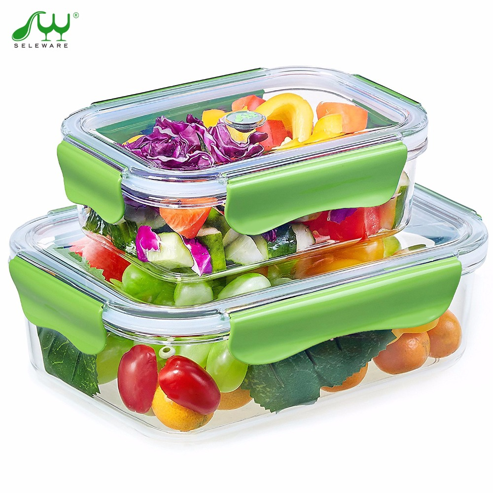 popular glass lunch containers buy cheap glass lunch containers lots from chi. Black Bedroom Furniture Sets. Home Design Ideas
