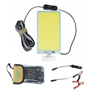 Image 2 - נטענת פנס נייד 12V LED מבול אור 100W 120W 150W עם מגנט motion חיישן חיצוני מבול אור חיפוש מנורה