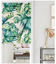 Vente en gros palm leaf curtains galerie achetez des for Fenetre 85x120