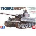Tamiya modelo 35216 1/35 escala escala de plástico tanque alemão modelo tanque Tiger I montagem modelo de construção kits de tanque de escama