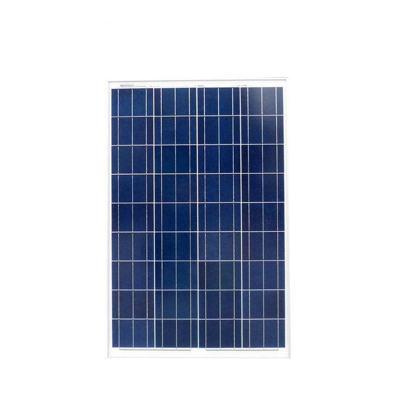Panneau solaire polycristallin 100 w 12 v zonnepaneel chargeur solaire 18 v batterie solaire chine pour camping-car yacht camping car caravane