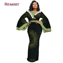 Африканские платья для женщин с Африканским принтом Дашики женские