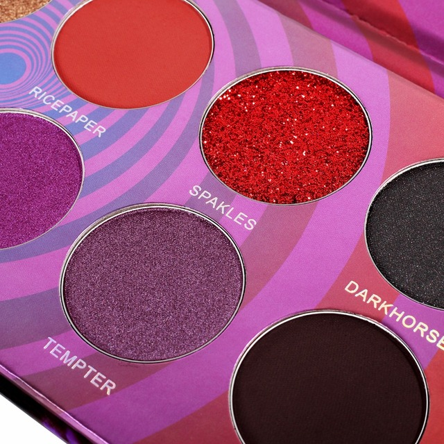 DE'LANCI 12 Color Plum Eyeshadow Pallete Glitter Shimmer Matte Eye Shadow Professional Pigment Cosmetics Makeup Beauty Palette 4
