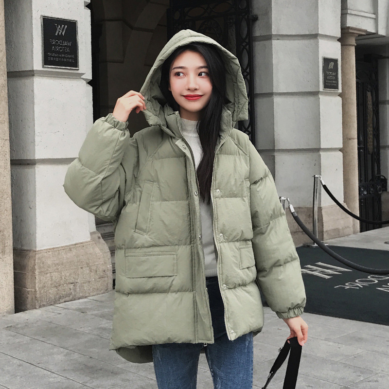 green Femme Coton Yelloow Épais D'hiver Winte Artificielle Veste Chaud Style Coréenne Parka Fourrure khaki Manteau 2018 À Capuchon De Femmes ORnzxwSUq4