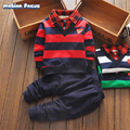 2017 S Brand New Boys Clothing Set Kids Sports Suit Children Tracksuit Boys Long Sleeve Sweater + Pants Casual Kids Clothes