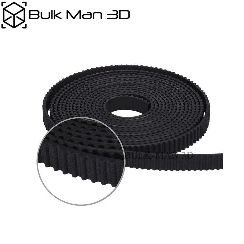 5 mt/los 6mm Breite Gummi Öffnen GT3 Zahnriemen für GT3 Pulley fit CNC Router/3D Drucker Zubehör
