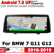 Android 7.0 up IPS car HD Screen player for BMW 7 G11 G12 2016~2019 NBT original Style Autoradio gps navigation WiFi Bluetooth