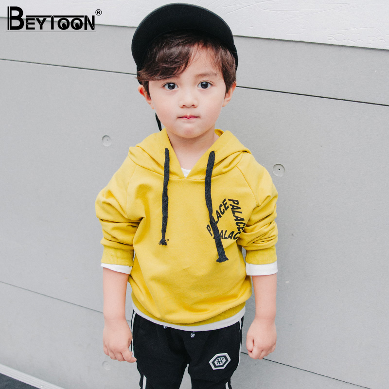 Toddler Boys Hoodies Children Hoodies Sweatshirt Boys Spring Autumn Coat Kids Long Sleeve Casual Outwear Baby Clothing