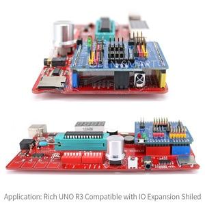 Image 5 - Rich Multifunction UNO R3 Atmega328P Development Board Kit for Arduino with MP3 /DS1307 RTC /Temperature /Touch Sensor module