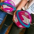 Женщины Harajuku Круг Планета 3D Цепи Сумочка Мода Орбиты Космического Аппарата Плеча Сумки Bolsa Feminina