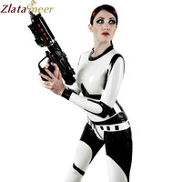 New Fashion Tight Latex Catsuit Cosplay Rubber Sexy Teddies Bodysuits LC259
