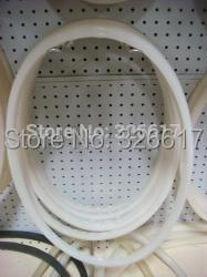 Free Shipping 400mm Gasket Silicone Round Pressure Manway Manhole Cover Replacement Sealing free shipping silicone gasket for 350mm round pressure manway 8x8mm