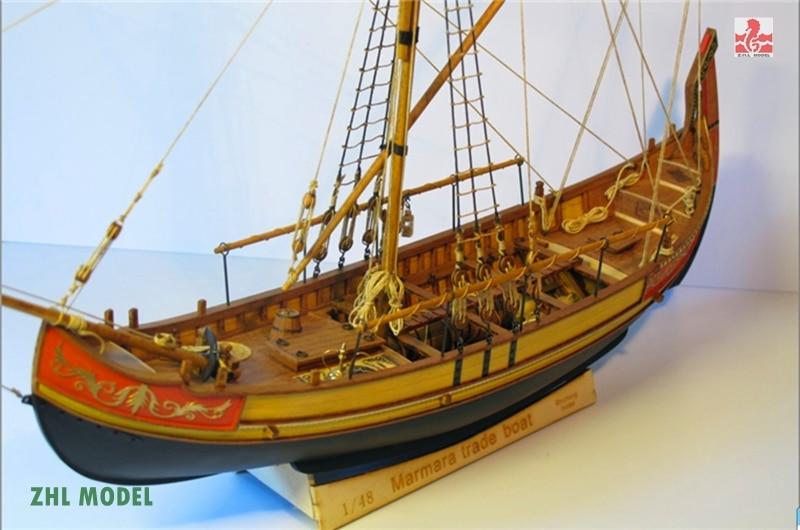 ZHL Marmara торговля лодка модель корабля дерево