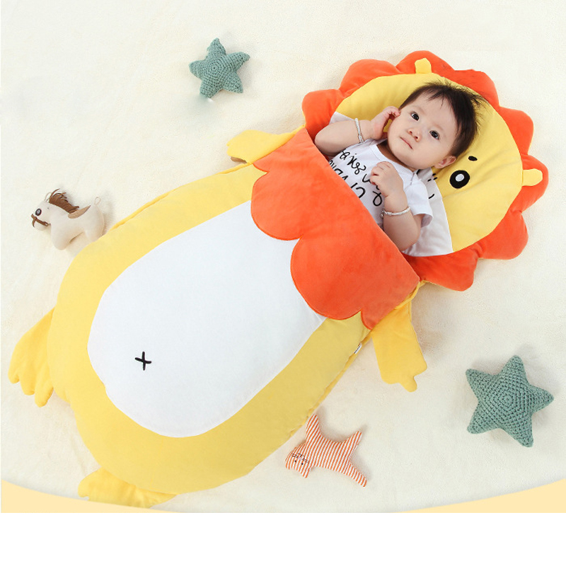 Children' S Sleeping Sack Infant Bag Cartoon Child Sleeping Bag Anti Kicking Air Conditioner Baby Sleepsack For Children Toddler