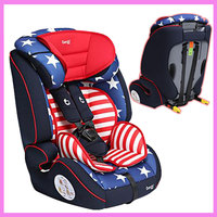 Brand Quality Portable Baby Child Car Safety Seat Travel System Three Point Harness Chair Seat 9