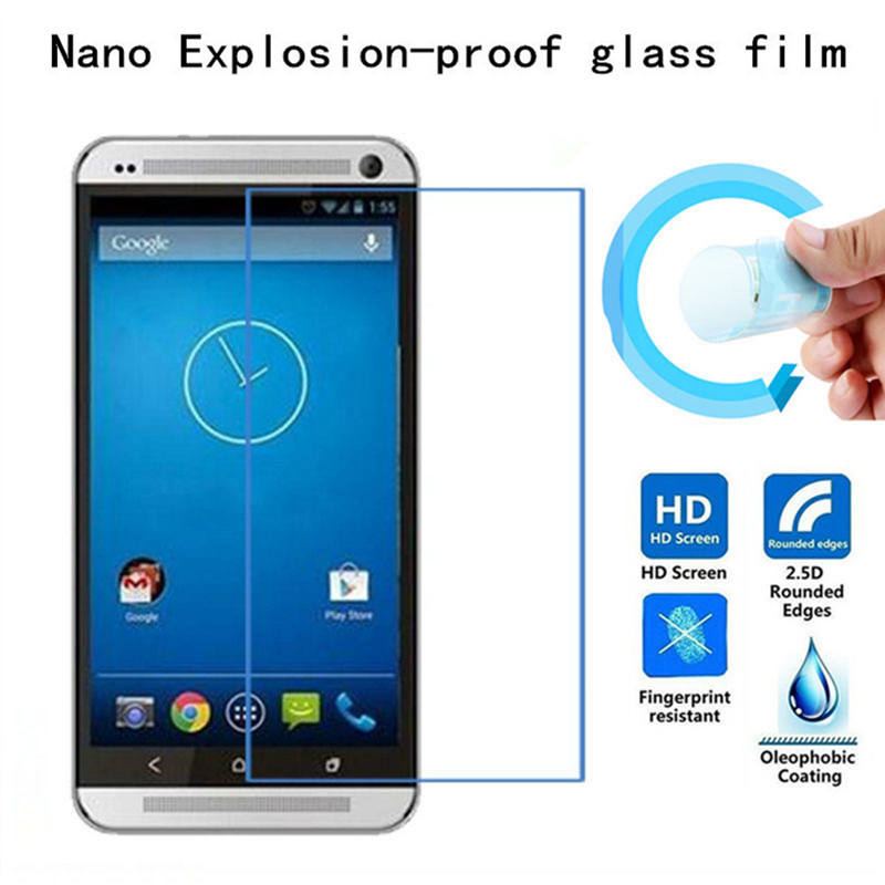 Soft Explosion-proof Nano Protection Film Foil for HTC One <font><b>M8</b></font> one2 htcm8 Film Screen Protector Not Tempered Glass