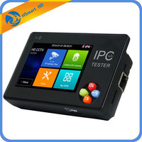 New 3.5 inch touch screen IP CCTV tester monitor ip camera hd h.265 analog camera testing 1080P ONVIF PTZ wifi 12V1A output