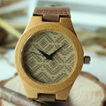 Relojes Mujer 2015 Hot Sale Bamboo Wooden Wristwatch Ladies Quartz Watches Women Top Brand Luxury in Gift Box