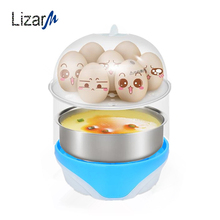 Portable Multi-function Egg Steamer fit for 6 Eggs capacity Electric Cooker eggs Boiler Cooking Tools Kitchen accessories