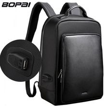 BOPAI Brand Backpack USB Charging Backpack Laptop Shoulders Anti-theft Backpack 15 inch Backpack Men Waterproof Size45* 30* 14cm
