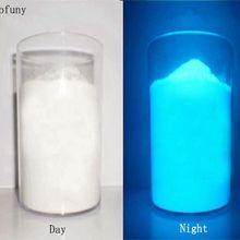 Ультратонкая яркая флуоресцентная цветная фосфорная пудра светится в темноте Порошковая светящаяся пигментная Фотолюминесцентная Пылезащитная пленка