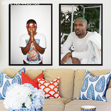 New Frank Ocean Poster Blond Singer Star Posters and Prints Wall Art Picture Canvas Painting Decoration Living Room Home Decor(China)